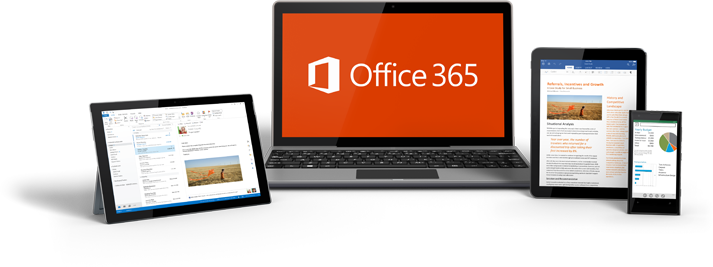 Dispositivos Office 365